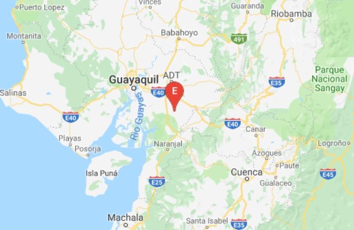 sismo en Guayaquil hace pocos minutos
