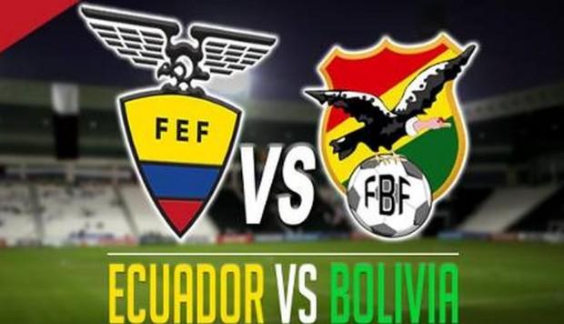 ecuador vs bolivia hora del partido