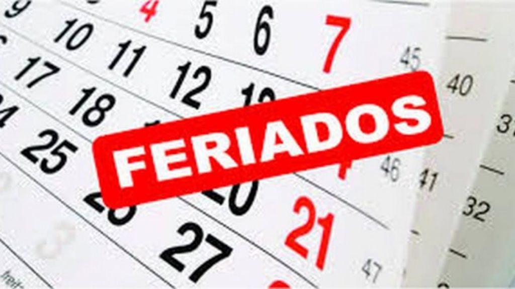 calendario feriados ecuador 2020