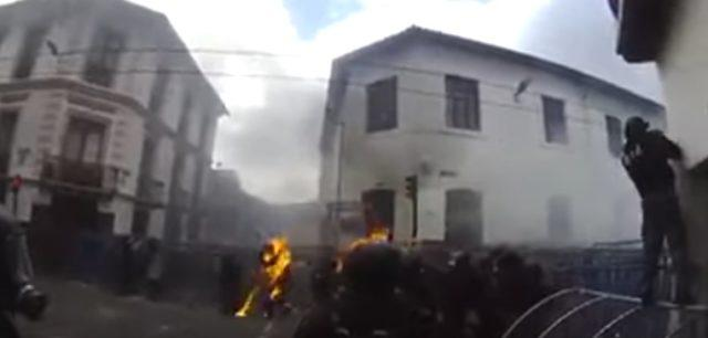 policias heridos ecuador