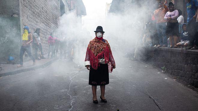 protestas indigenas ecuador