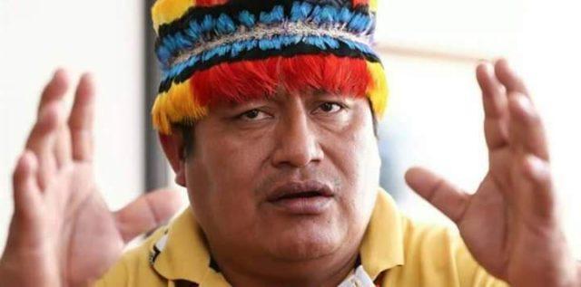 Jaime Vargas sueña ser presidente del Ecuador