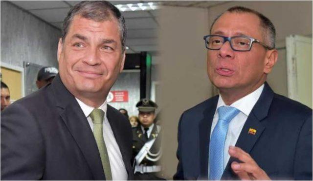 Rafael Correa pide dinero para la defensa de Jorge Glas