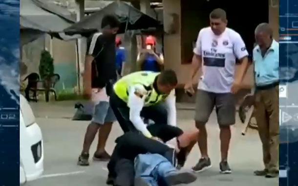 agente CTE agredido Los Rios