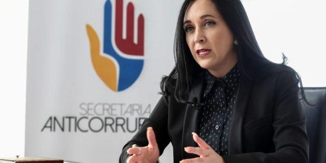 Secretaria Anticorrupción renunció al cargo