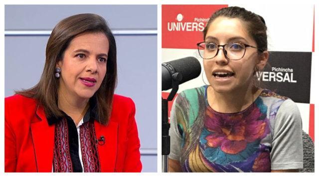 Feministas expulsan a Maria Paula Romo del 'mundo de las mujeres