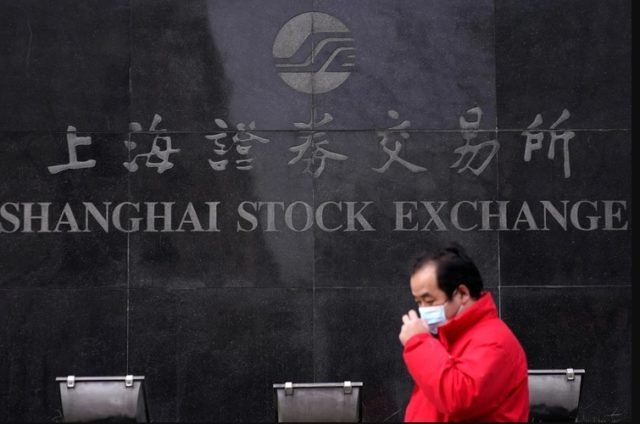 cae bolsa valores China