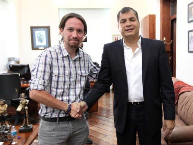 Rafael Correa desvio 54 millones de dólares hacia Pablo Iglesias de Podemos