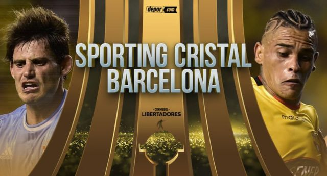 Sporting Cristal vs Barcelona de Ecuador