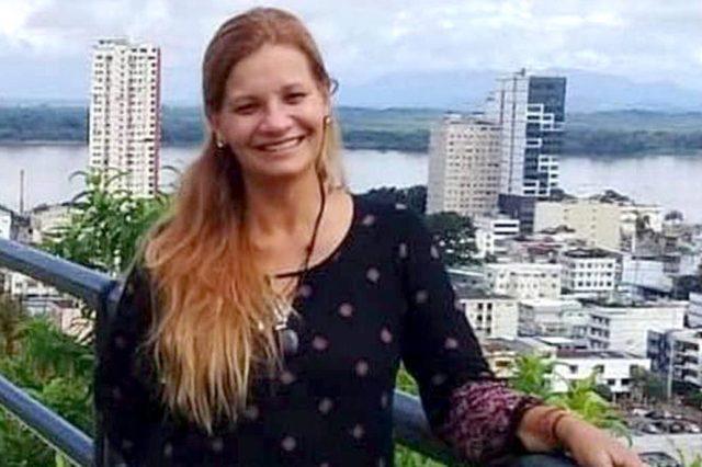 argentina desaparecida en ecuador muerta asesinada