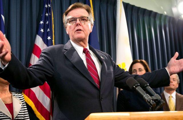 Dan Patrick vicegobernador de Texas