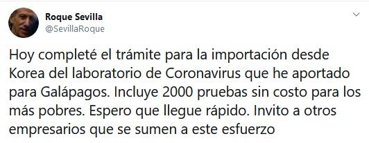 roque sevilla coronavirus