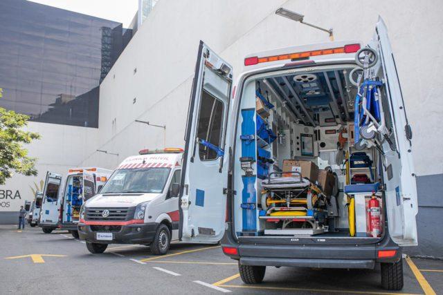eljuri donacion 20 ambulancias coronavirus
