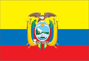 bandera ecuador vector