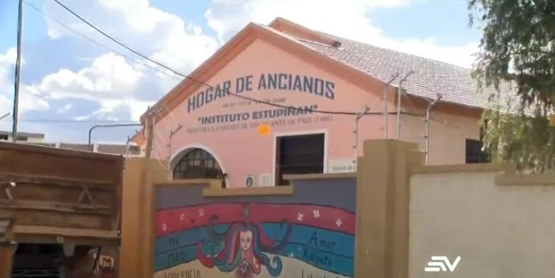 asilo ancianos covid 19 ecuador