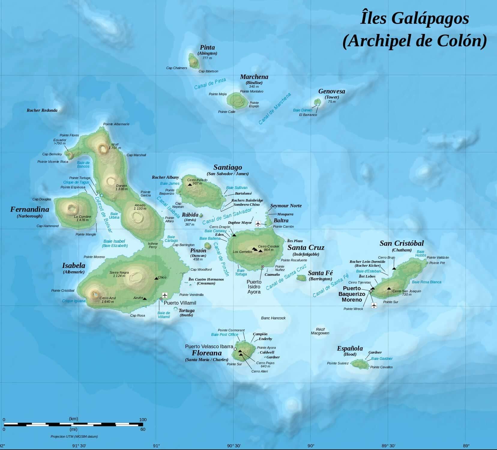 cuantas islas tiene galapagos
