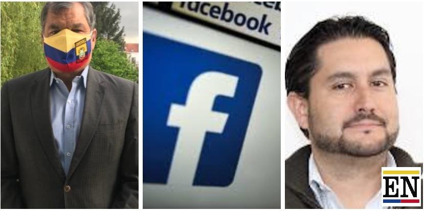 facebook cuentas rafael correa