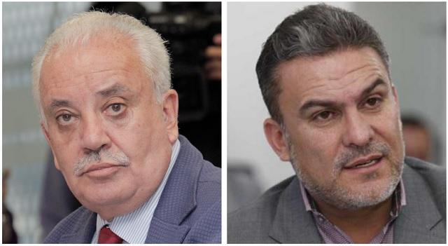 Galo Chiriboga y José Serrano