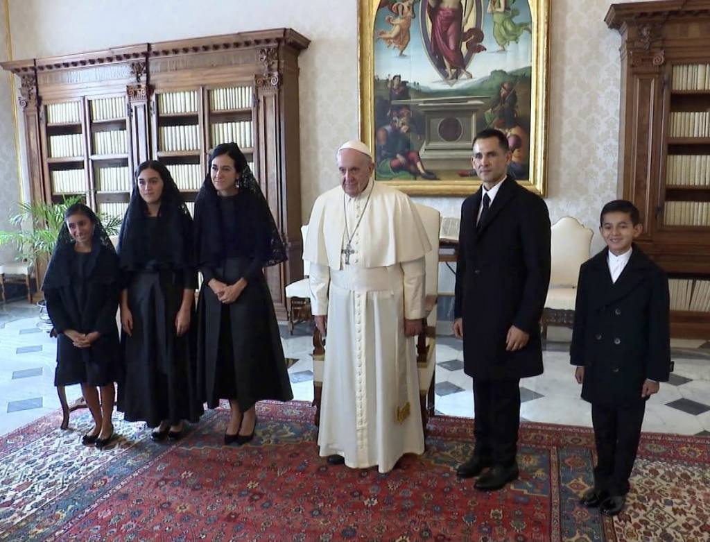 vicepresidenta visita papa francisco